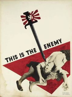 View This is the enemy poster design, collab. wLillian Bassman by Alexey Brodovitch on artnet. Browse upcoming and past auction lots by Alexey Brodovitch. Alexey Brodovitch, Page Layout Design, Ww2 Posters, Editorial, Typography Inspiration, Vintage Images, Cool Designs, Auction, Gallery