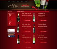 Zapraszamy do sklepu z winami, który powstał na platformie PS 1.4. Firma selljus wykonała wdrożenie projektu graficznego.