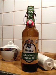 Rittmayer Hallendorfer Landbier - Note 1 (sehr süffig, würzig mild)