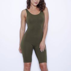 2016 Women Casual Bodysuit Sleeveless Playsuit Stretch Jumpsuit Romper Workout Leotard Fitness Bodycon solid Shorts Plus size