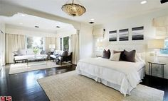 #BryceDallasHoward's Master Suite >> http://coolhouses.frontdoor.com/2013/03/04/bryce-dallas-howard-lists-romantic-retreat-in-los-angeles/?soc=pinterest