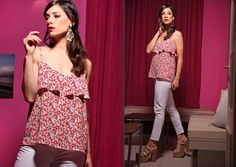 One Shoulder, Blouse, Tops, Women, Fashion, Female Clothing, Spring Summer 2016, Seasons, Style