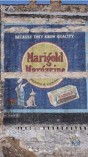 Marigold Margarine ghost sign