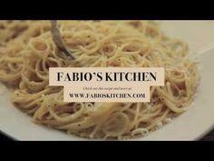 """Fabio's Kitchen: Episode 8, """"Spaghetti Cacio e Pepe"""" - YouTube"""