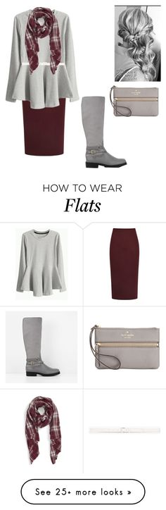 """""""brr"""" by apostolic-country-girl-98 on Polyvore featuring Reiss, Reception, Theory, Sole Society, CHARLES & KEITH and Kate Spade"""