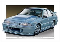 VL Walkinshaw art print new and exclusive from Unique Autoart. Our HSV Commodore prints look fantastic and are available in many different sizes. Cool Car Drawings, Holden Australia, Car Prints, Car Tattoos, Holden Commodore, Automotive Art, Car Painting, Car Pictures, Canvas Frame