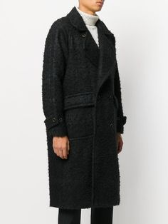Uma Wang double breasted wool coat