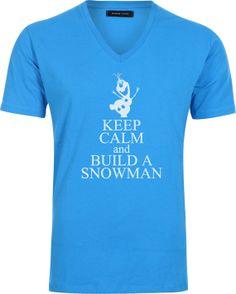 Iron on Frozen keep calm and let it go T-shirt design Disney's Frozen  Disney Princesses  Princess olaf  Elsa  shirt  Chalk  boy  Printable
