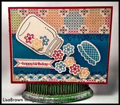 Love this set!  Perfectly Preserved from Stampin' Up!  www.inkandinspirations.com