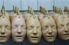 Masks by Iceman Forever (Richard Jonkman), via Flickr: Mask factory in the Netherlands. I've seen a black-and-white version of this pinned and repinned with no artist credit, but TinEye found a Flickr favorites list that yielded the original photographer.    This appeals to me as a writer (and a person, come to that), and will probably resonate even more with actors.