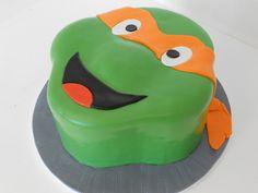 Ninja Turtle Cake - how cool is this!?