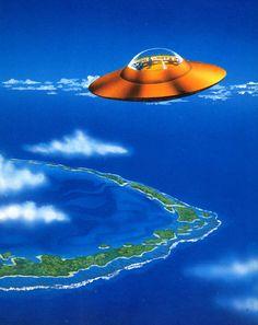70s sci-fi art: 70sscifiart: Unidentified Flying Objects. From...