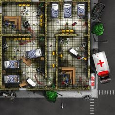Nobdy Hospital by on DeviantArt Board Games, Floor Plans, Deviantart, Tabletop Games, Floor Plan Drawing, House Floor Plans, Table Games