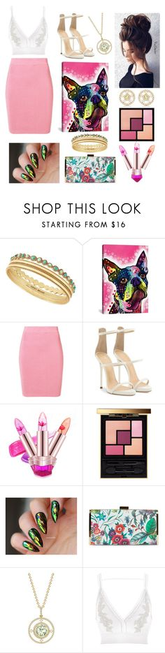 """Colors Within"" by julie-clove ❤ liked on Polyvore featuring Lucky Brand, iCanvas, T By Alexander Wang, Gerber, Giuseppe Zanotti, Yves Saint Laurent, Jessica McClintock, Kiki mcdonough and River Island"
