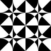 シームレスな幾何学的オップ ・ アート デザイン。ベクトル イラスト。 stock photography