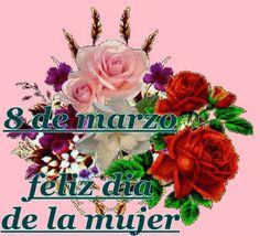 feliz dia de la mujer | feliz_dia_de_la_mujer_a_todas_las_mujeres_bellas_de_este_grupo ... God Is Good, Christmas Ornaments, Holiday Decor, Holidays, Facebook, Google, Ideas, Cute Good Night Quotes, Beautiful Roses