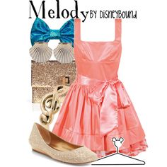 """Melody"" by lalakay on Polyvore #disney"