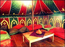 Overnachten in een Marokkaanse tent