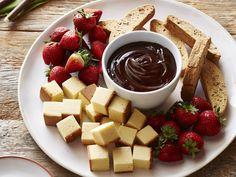 Chocolate Fondue Recipe : Michael Chiarello : Food Network - FoodNetwork.com...