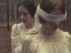 I'am the rain - Models: Josea&Rabea Hair/Makeup: Ilka Preuth Photo: Holger Nitschke Story Inspiration, Character Inspiration, Picnic At Hanging Rock, Gothic Aesthetic, Southern Gothic, Belle Photo, Gothic Fashion, Models, Picsart