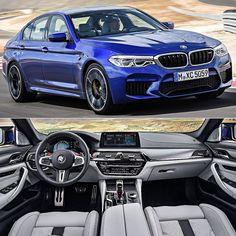 BMW M5 2018 Nova geração do sedã esportivo alemão foi revelada nesta segunda-feira.Construído com peças em fibra de carbono e alumínio o modelo traz propulsor M TwinPower Turbo 4.4 litros V8 biturbo de 600 cavalos entre 5.600 e 6.700 rpm e torque de 7647 kgfm disponível já a partir de 1.800 rpm até 5.600 rpm. O bloco é acoplado com a transmissão automática M Steptronic de oito velocidades. Segundo a BMW o M5 faz de 0 a 100 km/h em apenas 34 segundos e à velocidade máxima (limitada…