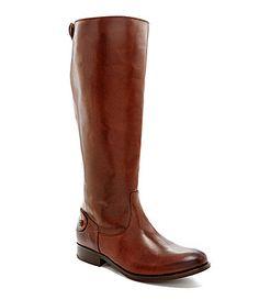 Frye Melissa ButtonBack Riding Boots #Dillards