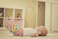 montessori baby mobile for grasping