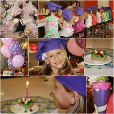 Little Chefs Birthday Party!