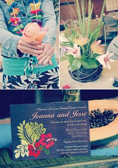 hawaiin-luau-dinner-invitation-lei  Bridal shower?  - Maybe I can sneak Lilo and Stitch in there :) HAHA