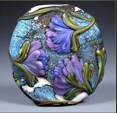 A bead by Kristen Frantzen Orr.  Took a class with her in Phoenix back in 2002