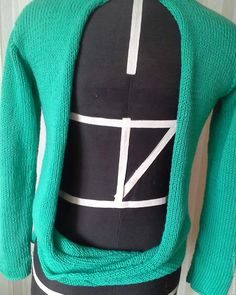 Купить свитер с открытой спиной - свитер с открытой спиной, свитер женский, свитер вязаный