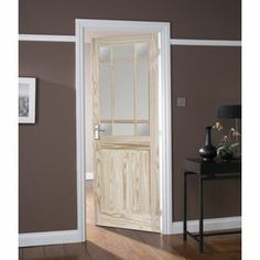 Kensington 9 Light Clear Pine Glazed Internal Door - 30in from Homebase.co.uk