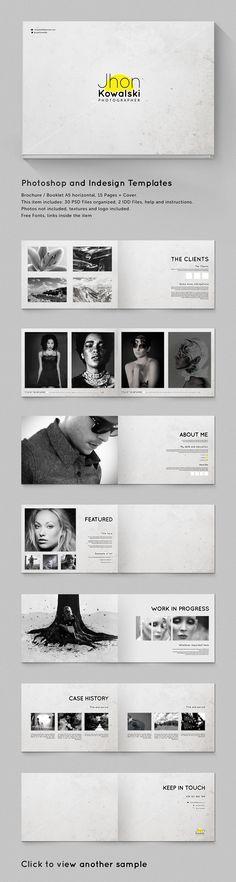 Resume Templates & Design : Brochure - Booklet Template Minimal Portfolio - GraphicRiver Item for Sale - Resumes. Design Brochure, Brochure Layout, Graphic Design Layouts, Layout Design, Booklet Template, Booklet Design, Brochure Template, Resume Templates, Fashion Portfolio Layout