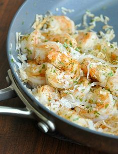 Take you taste buds to the tropics tonight with some Coconut Shrimp Alfredo