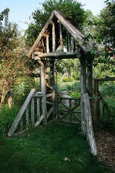 rustic gateway