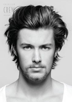 Hairstyles Simple Long Hot Haircuts 61 Ideas For 2019 American Crew, Hot Haircuts, Hairstyles Haircuts, Trendy Hairstyles, Medium Hair Cuts, Long Hair Cuts, Medium Hair Styles, Thin Wavy Hair, Hair And Beard Styles