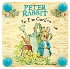 Beatrix Potter 185mm Square Wooden Peter Rabbit Plant Press: Amazon.co.uk: Toys & Games