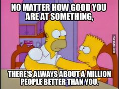 COMPARATIVES - homer's lesson - A2
