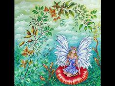 A Rainha das fadas e seu Jardim Secreto (By Diana Moraes) - YouTube