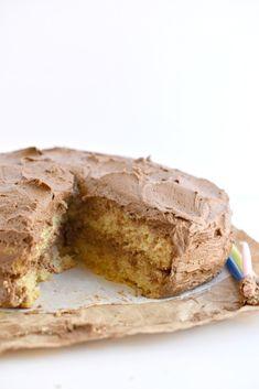 #GlutenFree #Vegan Yellow Cake. #SoyFree