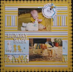 Hungry Baby - Scrapbook.com