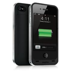 Mophie Juice Pack Air iPhone case:   While it's nothing new to market, I got introduced to the brilliance of the Mophie Juice Pack Air iPhone case last night. A beast that you'll definitely feel in your pocket, the fact that you never have to worry about your iPhone 4 or 4s going dead is worth the weight.