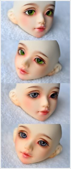 Body of your choise AL or ML Face Make Up BJD 1//4 Ante Eyes