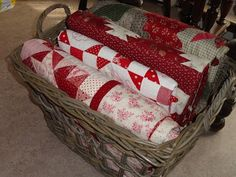 Quilts in Baskets