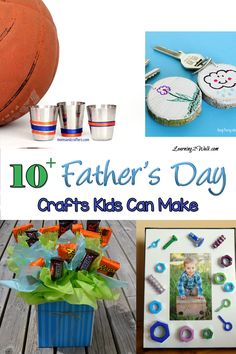 10+ Father's Day Crafts for Kids to make