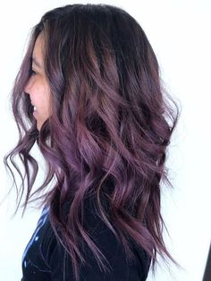 Photo of The Beehive Company – Dallas, TX, United States. Smoky lavender Balayage Foto van The Beehive Company – Dallas, TX, Verenigde Staten. Lavender Hair, Lilac Hair, Purple Brown Hair, Balayage Hair, Purple Balayage, Great Hair, Hair Videos, Hair Trends, 2018 Hair Color Trends