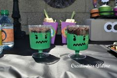 Treats at a Halloween Craft Party #Halloween #craftparty