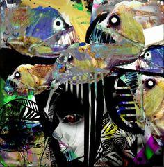 The Deep.... By DefectiveAlien  ⭐  http://www.etsy.com/uk/shop/DefectiveAlien
