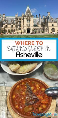 Grab this guide to decide Where to Eat and Sleep in Asheville. We've got the best Asheville hotels and restaurants to enjoy in this mountain mecca.