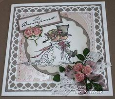 Elinas hobbylering: wedding-card LOTV